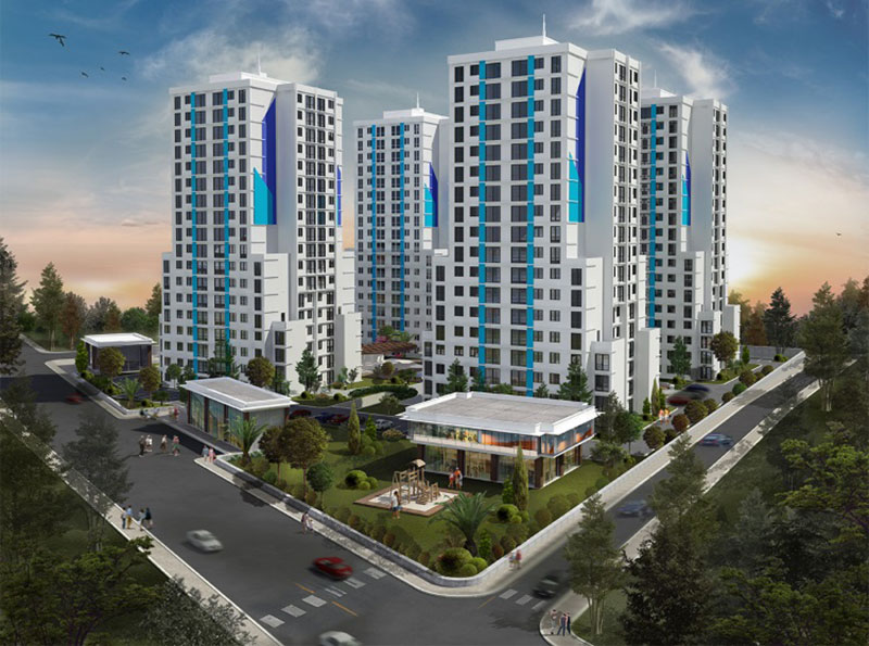 Cube Residence - Properties for sale in Istanbul Turkey