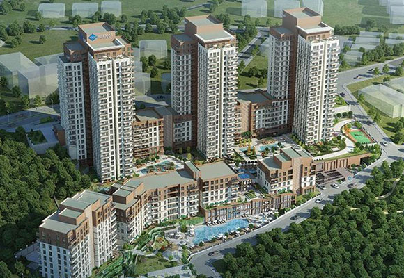 Premium residences at the crossroads of expanding city in Bahcesehir