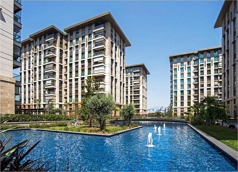 Modern High standard Apartments for sale in Topkapi Istanbul