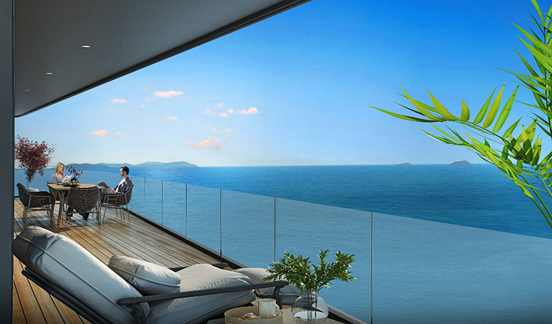 Luxury sea view residences for sale in Istanbul 8