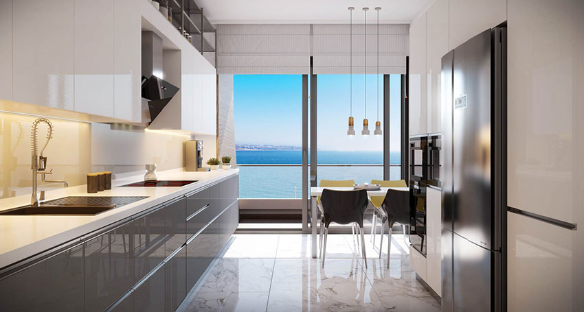 Pre-launch Sea View Luxury Apartments coastline Mimaroba Istanbul 10