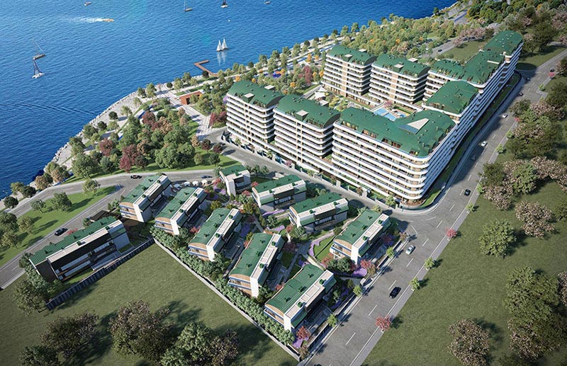 Sea view luxury apartments in Mimaroba