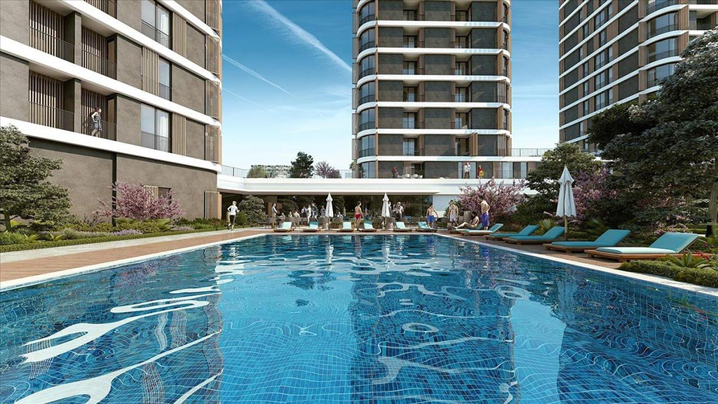 3 Years %6 Rental Yield Guarantee Apartments in Istanbul City Center 2