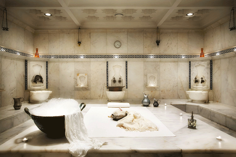 Turkish bath in the complex