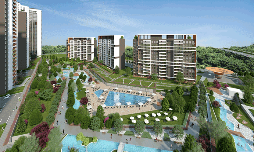Ready to move in Panoramic Lake View Apartments in Istanbul  6