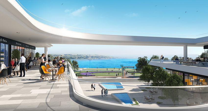 Pre-launch Sea View Luxury Apartments coastline Mimaroba Istanbul 8