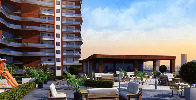 Superb sea view residences in Beylikduzu Istanbul 8