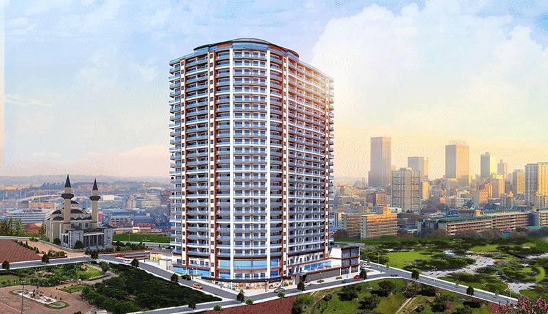 Superb sea view residences in Beylikduzu Istanbul 4
