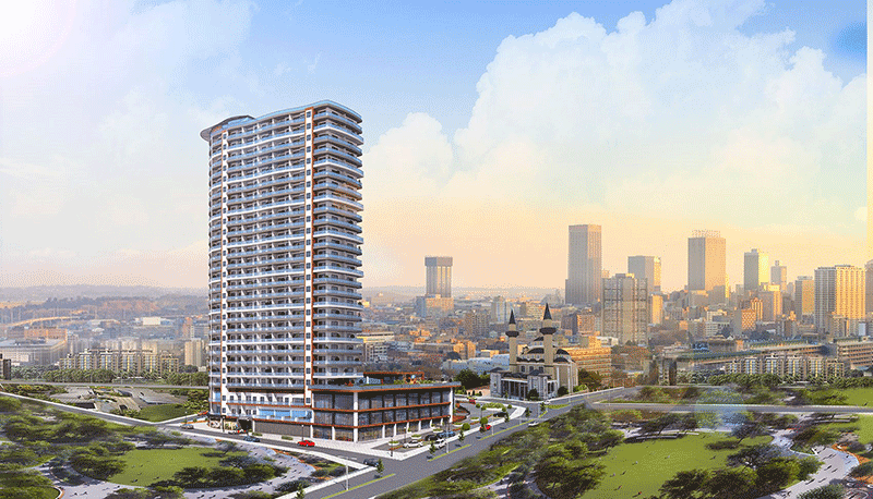Superb sea view residences in Beylikduzu Istanbul 3