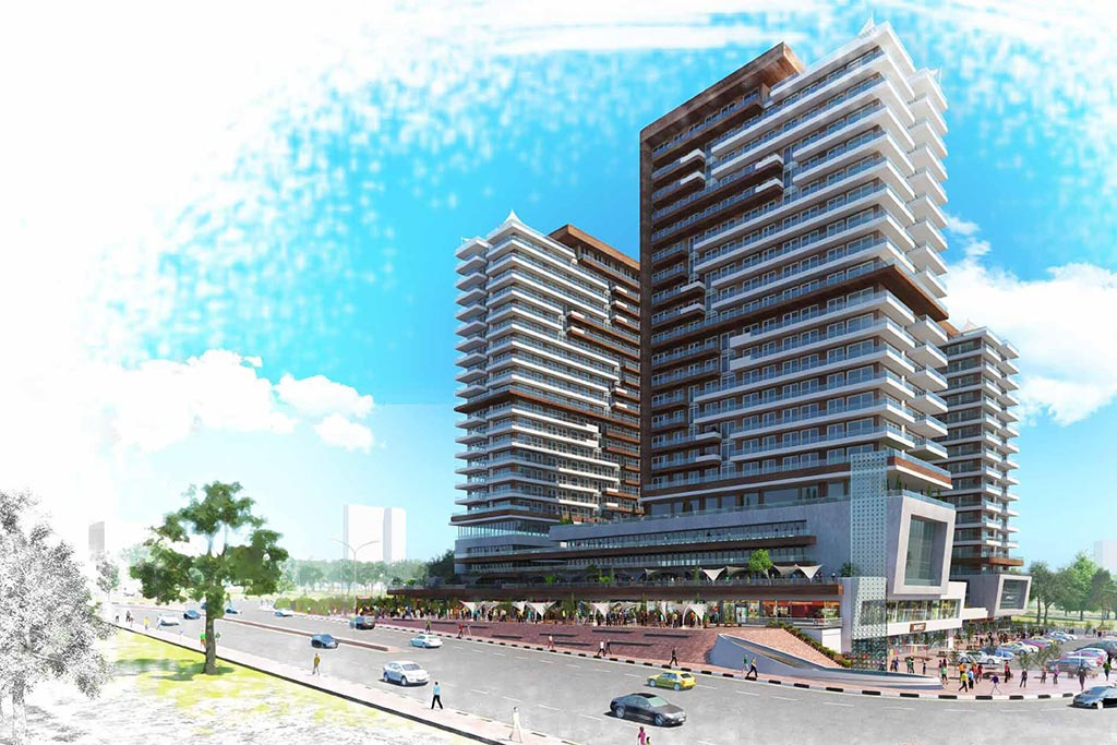 Luxury and Modern Archtecture in Basin Ekspress Istanbul- Turkish Citizenship 2