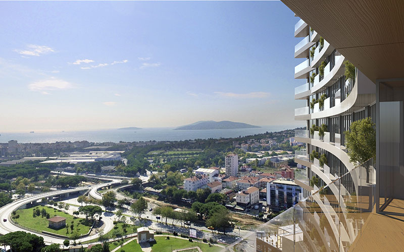 High Quality apartments for sale in Dragos with a sea view 2