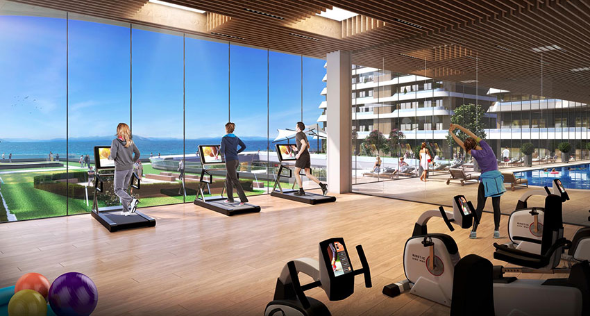 Pre-launch Sea View Luxury Apartments coastline Mimaroba Istanbul 6