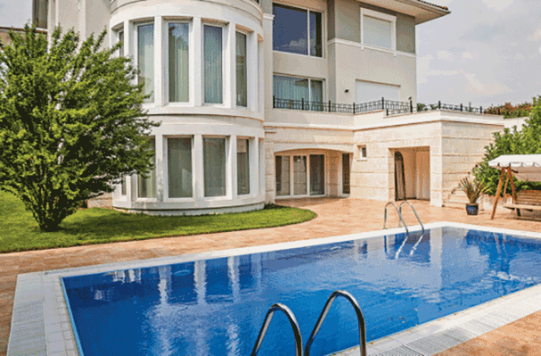 Sea View Villas for Sale in Istanbul Beylikduzu  1