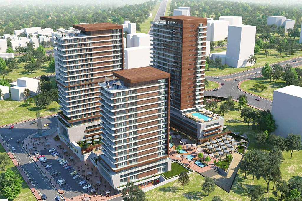 Luxury and Modern Archtecture in Basin Ekspress Istanbul- Turkish Citizenship 3