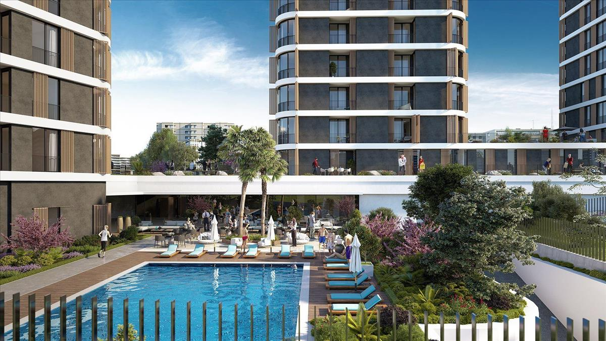 3 Years %6 Rental Yield Guarantee Apartments in Istanbul City Center 6
