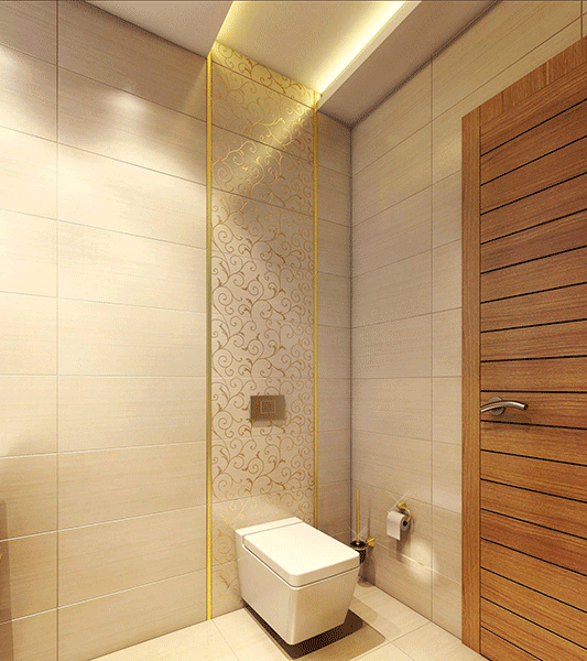 Executive bathroom design