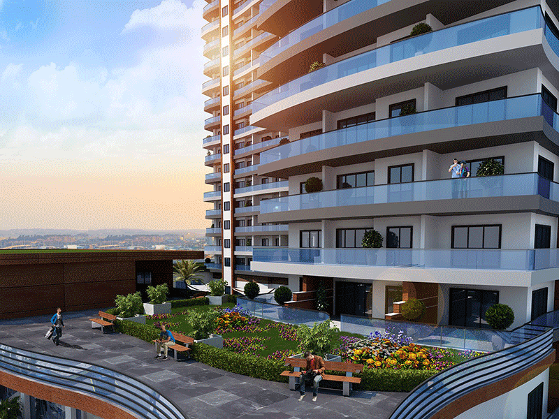 Superb sea view residences in Beylikduzu Istanbul 9