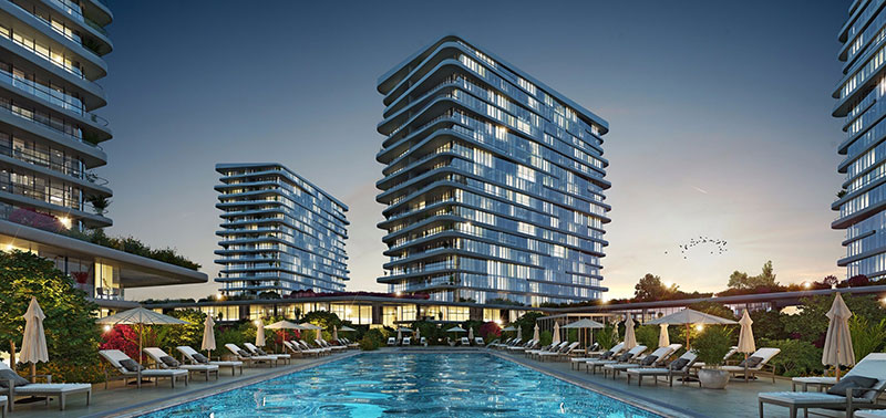 Luxury sea view residences for sale in Istanbul 10