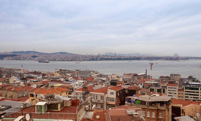 Modern Galata Tower Loft Nice View For Rent In Istanbul 7
