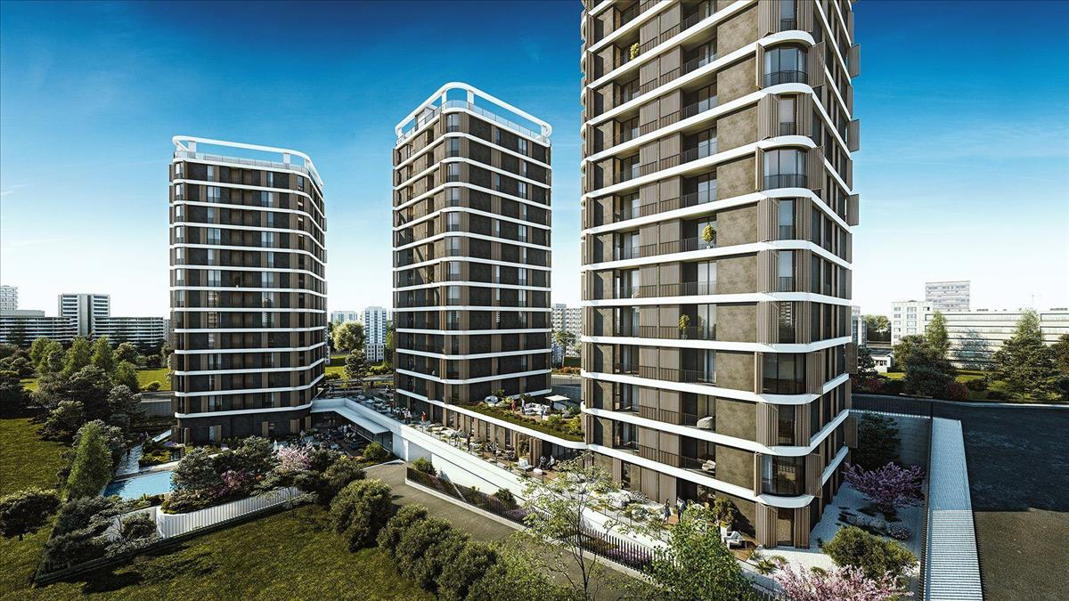 3 Years %6 Rental Yield Guarantee Apartments in Istanbul City Center 3