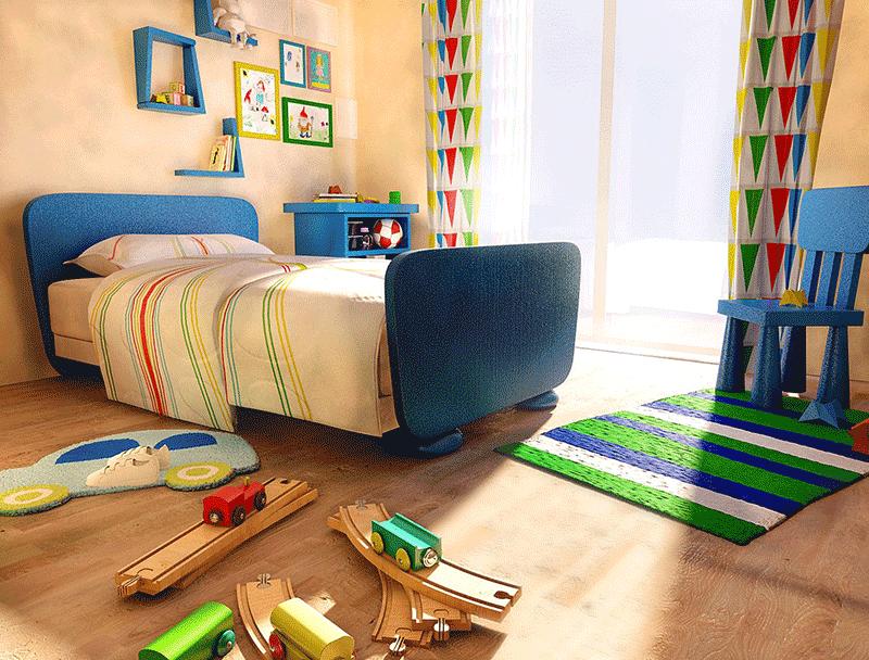 Kids Bedroom 3d Model superb sea view residences in beylikduzu istanbul - turkey