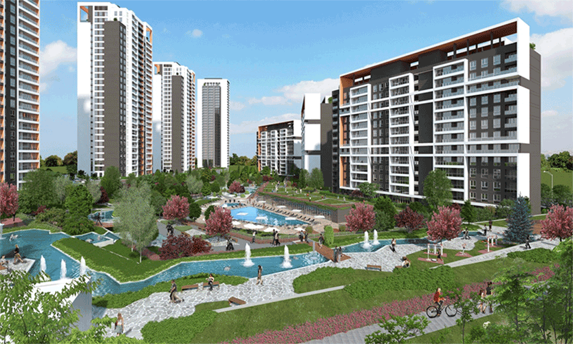 Ready to move in Panoramic Lake View Apartments in Istanbul  4